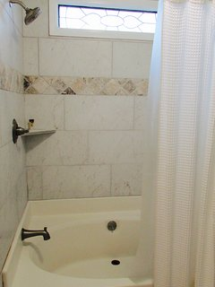 garden tub with new tile