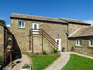 THE HAYLOFT, stone-built barn conversion, pet-friendly, off road parking, walks