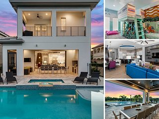 Golden Bear Retreat | 6 Bed 6 Bath Luxury Villa Furnished July 2016 with, Kissimmee