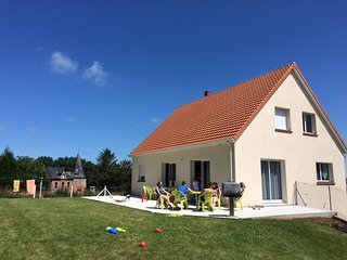 Maison calme à 800 m de la mer, Saint-Aubin-Sur-Mer
