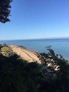 Seaview of Kingsdown beach