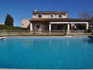 Villa Carritx 2248 Llucmajor area residencial tranquila