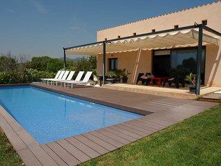 Casa vacacional Son Sard, Costa los Pinos con piscina privada