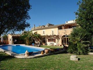 Casa de vacaciones Es Porrassar en Cas Concos, sur de Mallorca