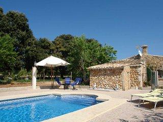 Casa de Campo 1624 Figuera blanca Búger en zona tranquil·la y vistas a las