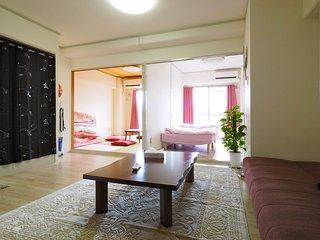 2 bedroom & 1 living room 7mins Shin-Osaka station