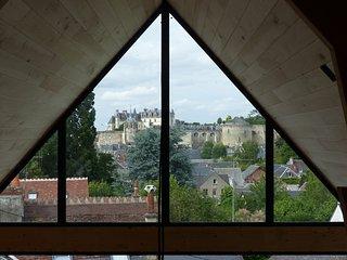 LES TERRASSES ROYALES Gite : Point de vue Léonard, Amboise