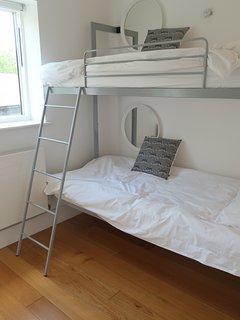 Bedroom 3 with engineered bunk beds