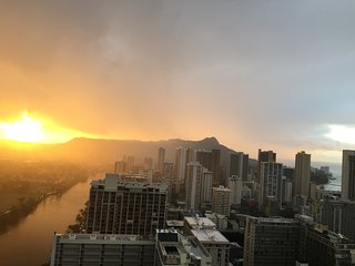 NOW AVAILABLE: 41st Floor Studio Loft in Paradise, Honolulu