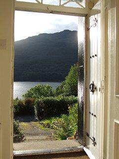 View from Front Door.