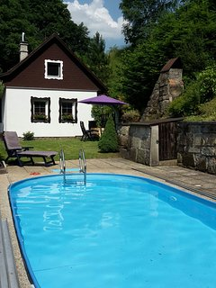 Holiday home with swimmingpool Czech Republic