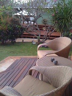 Front deck garden view!