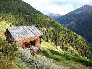 Grange Val d'Herens  1600 m. - Valais - Suisse, Mase