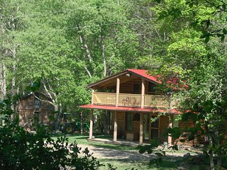Rock-n-Creek Cabin mile post 27 off BR Pkwy