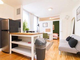 QUIET, CLEAN AND COZY 1 BEDROOM, 1 BATHROOM APARTMENT, Nueva York
