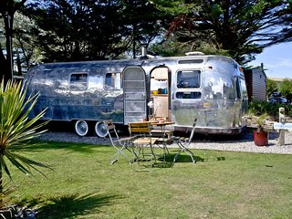 Stravaigin, Airstream, The Park  located in Newquay, Cornwall