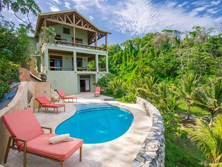 L'Alizé: Private, Spacious Beachfront, in West Bay- kayaks, pingpong, pool/beach
