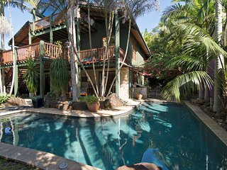 Balinese Beach House, Byron Bay