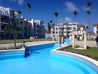 Apartamento con vista a la piscina, muy acogedor., Bavaro