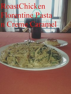 Roast Chicken Florentine Pasta
