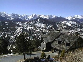 The Alleman N. at Windcliff: Long�s Pk. and Continental Divide Panoramic Views, Estes Park