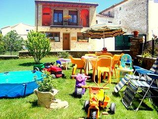 Casa Rural Belástegui en Navarra para niños