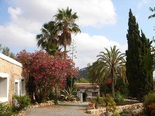 Villa ibicenca con encanto, San Agustin