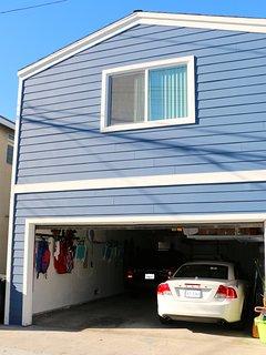 garage - renters get 2 tandem spots for parking