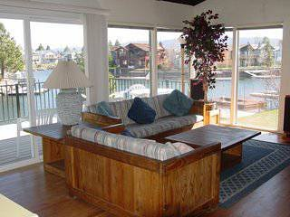 TAHOE KEYS HOME ON THE WATER--- Dock, Heated Indoor and Outdoor Pools, Beach, and Tennis Courts