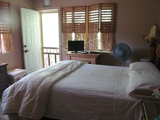 Birds Nest B&B, a cozy treetop suite in Suttons Bay village - on the wine trails