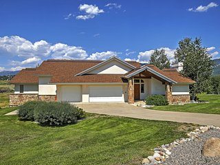 4BR Steamboat Springs Home by Rita Valentine Park!