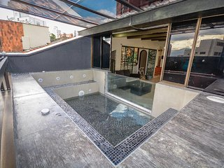 Exclusive dúplex awesome private glass Jacuzzi, Medellin