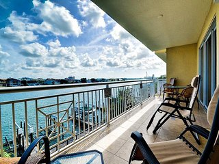 Bay Harbor  302 Radiant Water View of the Bay in this 3 Bedroom 3 Bath Condo in Clearwater Beach.