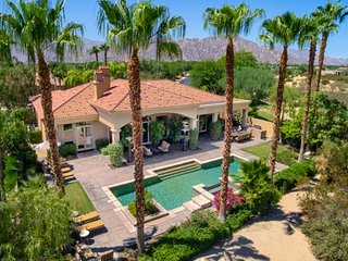 Greg Norman Luxury Mountain View Villa W/Salt Water Pool/Spa, La Quinta