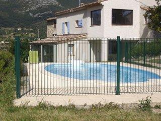 Gite avec piscine, La Palud sur Verdon