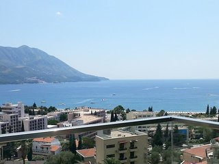 Beautiful seaview apartment, Becici
