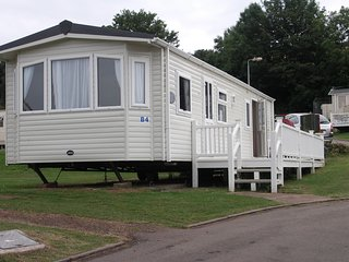 Caravan B4 Southbay Holiday Park, Brixham, Devon