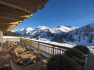 Breath-taking views luxury chalet, Lech