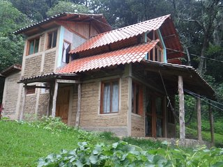Eco-Hotel Mayachik, private and shared bungalows