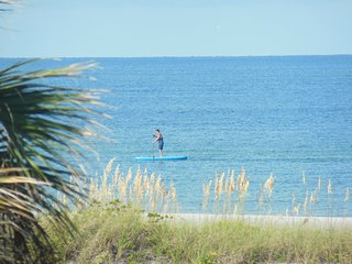 Directly On The Beach Gulf  Views Rental Sleeps 12, St. Pete Beach