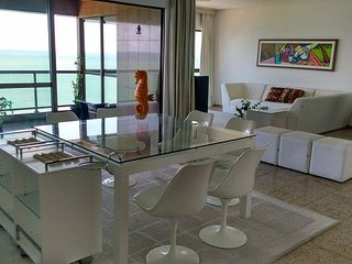 BEST PANORAMIC OCEANVIEW 1800 DEGREES - 4 BEDROOM - AV. BOA VIAGEM, RECIFE
