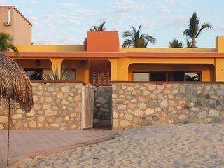 Newly Remodeled Beachfront Home in Downtown Los Barriles!