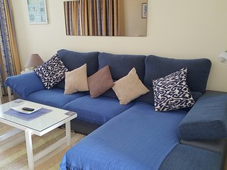 Comfy sofa in lounge