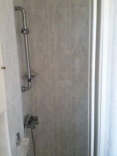 Aseo con ducha