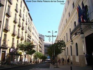 ILAIA MADRID PALACIO. Exclusivo apartamento de lujo junto a Palacio Real