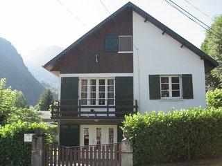 Appartement en rdc+jardin T3 5/7 pers.