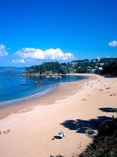 Playa de Perbes a 10 min andando