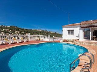 Villa Berg en Benissa,Alicante para 6 personas