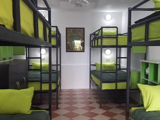Bunk room near Bang sare sleeps 8 shared bathroom