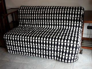 divano letto alla francese (cm 140 larghezza 2 m lunghezza